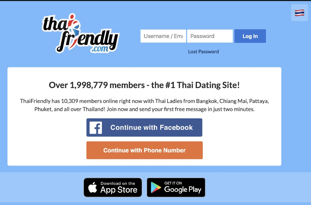ThaiFriendly screenshot