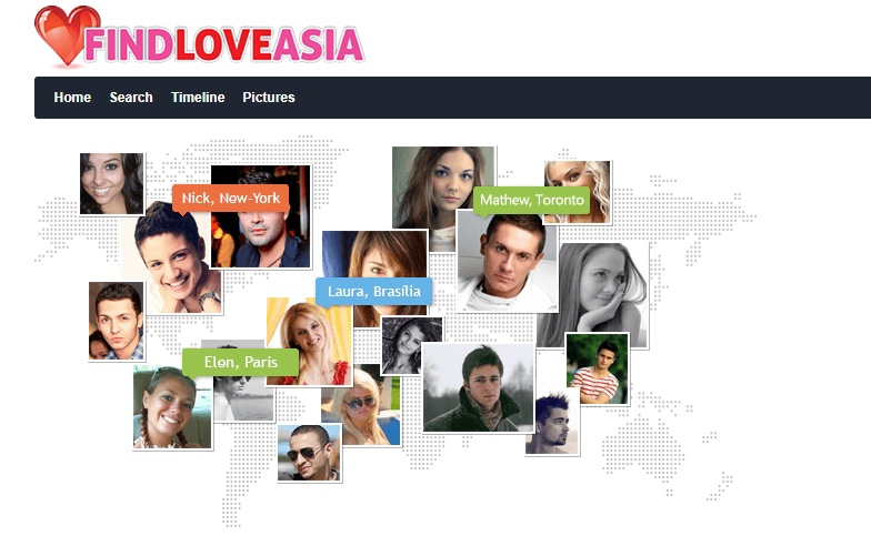 FindLoveAsia.com log in